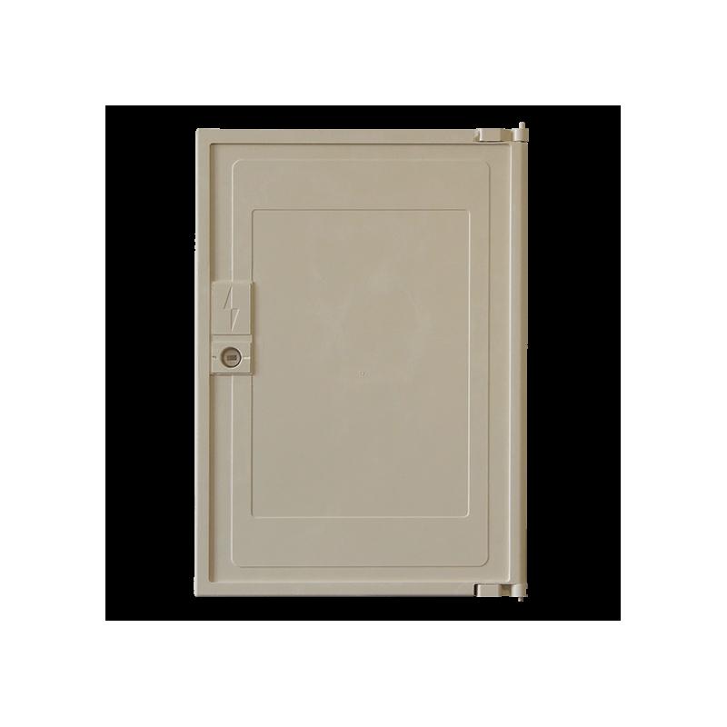 Porte de coffret minimixt s20 electrique compatible for Porte electrique