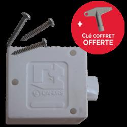 Serrure Triangle Porte de Coffret Paninter / Minimixt + Clé Offerte