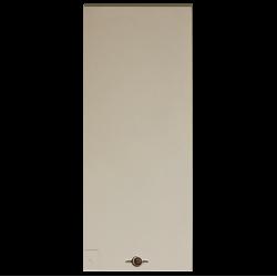 Panneau d'accès pour Borne CIBE Elec EDF Beige - Sigle Eclair