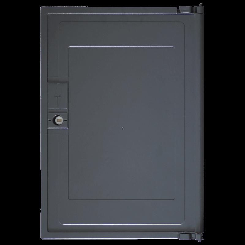 Porte cuve minimixt s20 electrique multimarque gris anthracite for Porte electrique