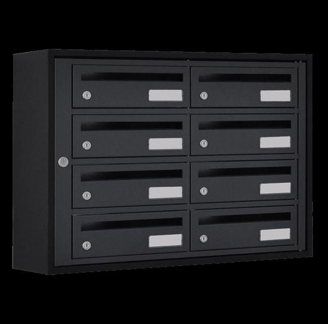 boites aux lettres int rieures aux dimensions pour petits colis. Black Bedroom Furniture Sets. Home Design Ideas