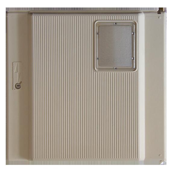 Porte de coffret paninter beige avec hublot s15 element5