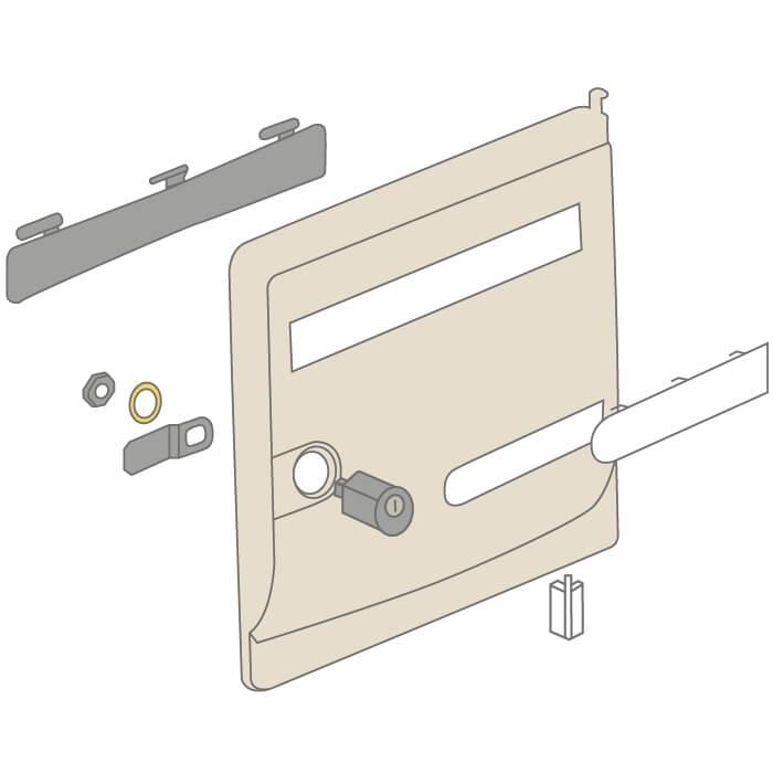 boite aux lettres encastrable free dimensions blocs boites aux lettres with boite aux lettres. Black Bedroom Furniture Sets. Home Design Ideas